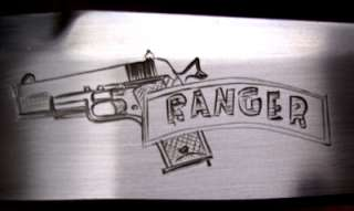 Doc Burgess Knives Knife Custom Engraved Handmade