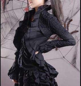 Qualität Jacke Bluse Gothic Punk Rave EMO Visual Kei