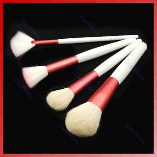 18Pcs Eyeshadow Brusher Makeup Brush Set Kit+Pink Case