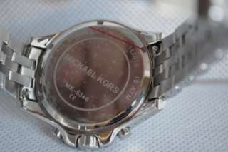 Michael Kors Silver Tone Womens Watch MK5346 #40