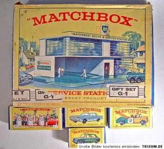 Matchbox Giftset G 1 Service Station Ersatz Set 1966