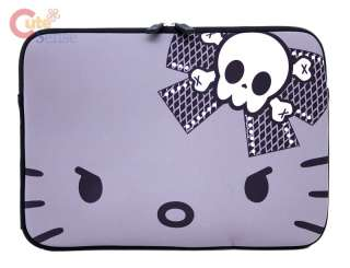 Sanrio Hello Kitty Formed Apple Mac Book Case , LapTop Bag  Angry