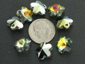 RARE 12mm 5744 flower sahara Swarovski Crystal