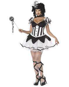 COURT JESTER harlequin womens adult halloween costume M