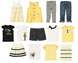 Gymboree NWT Girls BEE CHIC Shirt Dress Shorts Pants 8 9 10 12