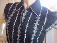 Bcbg White Dress on Bcbg Maxazria Black White Embroidered Cotton Spring Summer Day Dress M