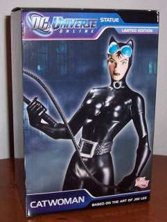 DC Universe Online Catwoman Statue Ltd Ed Jim Lee
