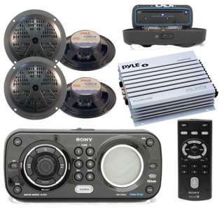 4X52 CDXH910UI Waterproof Marine CD  iPod iPhone Radio Stereo