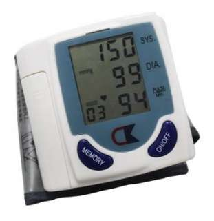 New Digital Wrist Blood Pressure Monitor Heart Beat Meter Tester Good