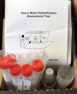 Heavy Metal Testing Kit Mercury Lead Copper,Etc.10Tests