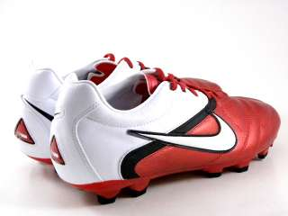 Nike Crt360 Libretto II FG White/Red/Black Soccer Futball Cleats Boots