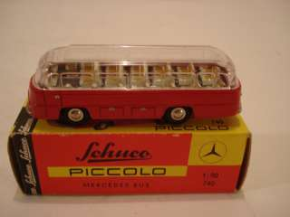 Original Issue Schuco Piccolo Mercedes Benz 740 Bus NIB