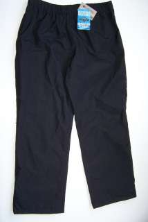 COLUMBIA Mens Rain Pants Snow Ski Size XL Black NWT New