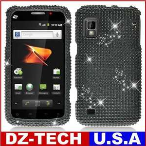 Diamond Bling Hard Case Cover for Boost Mobile ZTE Warp N860 Accessory