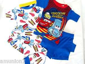 PC DISNEY CARS Toddler Boys Pajamas PJS size 2T 3T 4T