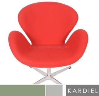 SWAN CHAIR ball barcelona egg womb retro modern accent