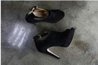 Vogue Lady Stilettos Women Platform Pumps High Heels Ankle Boots Shoes