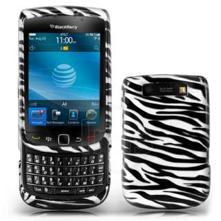 Magic Store   Zebra Style Hard Case For Blackberry Torch 9800 + Film