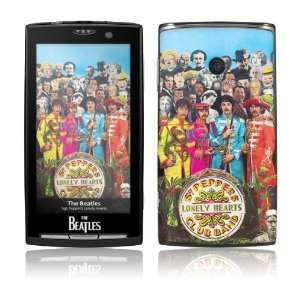 Sony Ericsson Xperia X10  The Beatles  Sgt. Pepper s Skin Electronics