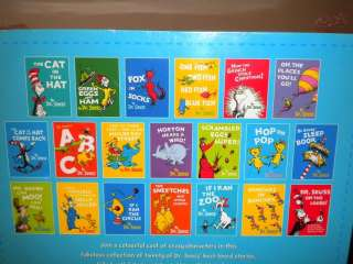 THE WONDERFUL WORLD OF DR SEUSS BOX SET 20 BOOKS RRP £99.99