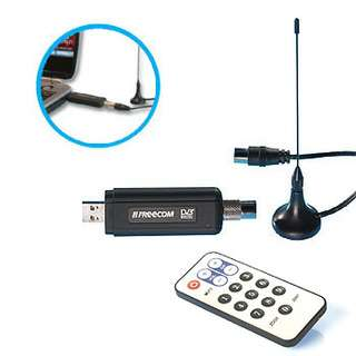 KIT DECODER RICEVITORE DIGITALE TERRESTRE TV PC USB DVB |