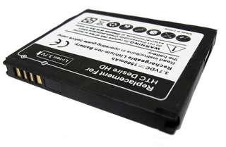 High Capacity Battery 1500mAH Power for HTC Desire HD