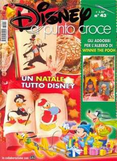 000 SCHEMI PUNTO CROCE DISNEY E LOONEY TUNES su DVD cross stitch