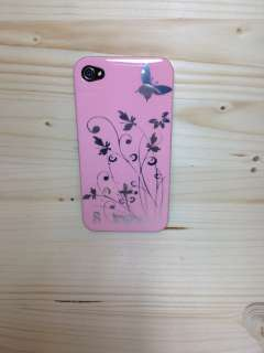 Cover,case,custodia Apple iPhone 4/4S Pink Flower no hello kitty