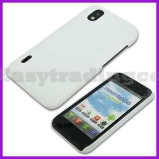 White Hard Back Cover Case for LG Optimus Black P970
