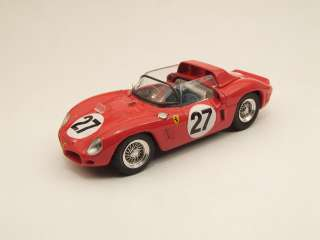 ART MODEL 268 Le Mans 1962 Scarfiotti/Baghetti #27 FERRARI   1/43