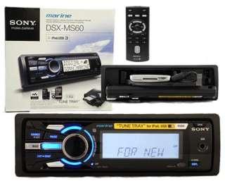 SONY DSXMS60 MARINE BOAT  RADIO RECEIVER iPod INPUT