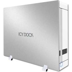 Icy Dock Ultra Slim USB eSATA Ext HD En: Computers