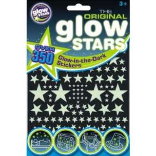 350 GLOW IN THE DARK STARS Moon UFO Rocket NEW STICKERS
