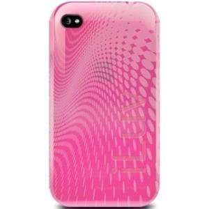 jWIN ICC726PNK WAVE TPU CASE FOR IPHONE 4   PINK