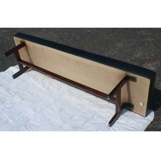 6ft Vintage Monarch Furniture Company Wood Tufted Bench