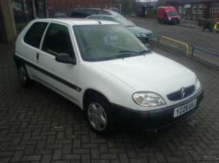 2001 Y Reg Citroen Saxo 1.1i First CHEAP CAR BARGAIN
