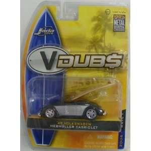 Jada Toys 1/64 Scale Diecast Vdubs Wave 1 1949 Volkswagen Hebmuller