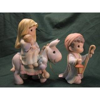 Precious Moments 4 Piece Nativity Figurine Set