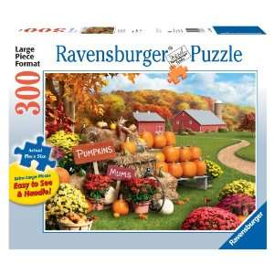 Ravensburger Autumn Memories   300 Pieces Large Format