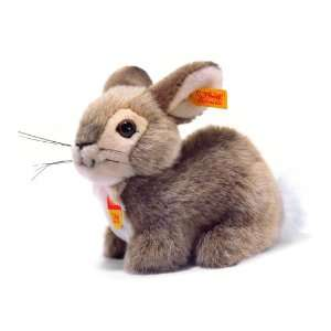 Steiff Rabbit 6 Brown Sitting, EAN 082669: Toys & Games