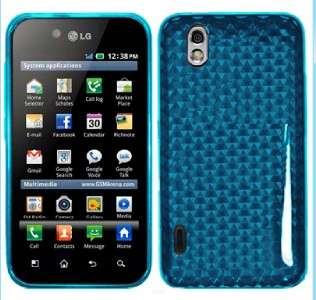 FUNDA TPU GEL CASE COVER PARA LG Optimus Black P970 bu