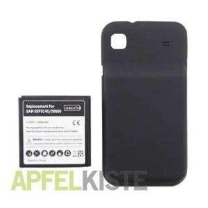 MEGA 3500mAh Akku Batterie Samsung i9000 Galaxy S #554