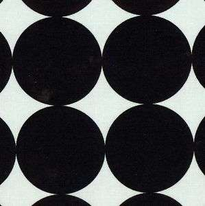 RETRO Black White DISCO DOT Michael Miller Mono FQ Mod