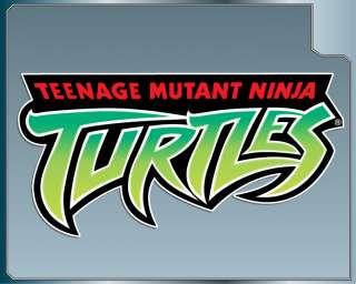 Teenage Mutant Ninja Turtles Logo decal sticker TMNT
