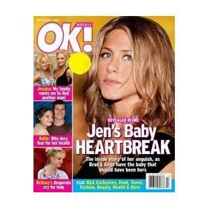 OK Weekly Magazine Jennifer Aniston May 1, 2006 Issue