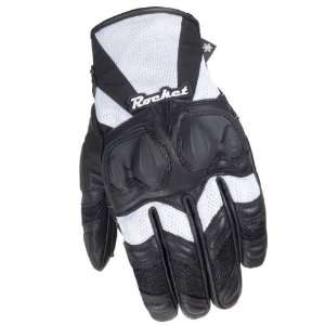JOE ROCKET CLEO SR WOMENS GLOVES BLACK/WHITE MD