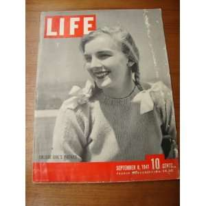 LIFE Magazine   September 8, 1941 Henry R. Luce Books