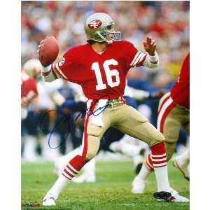 Joe Montana San Francisco 49ers   Passing   Autographed