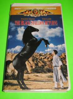 The Black Stallion Returns VHS Vincent Spano Teri Garr