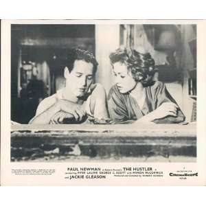 PAUL NEWMAN PIPER LAURIE THE HUSTLER ORIGINAL LOBBY Home